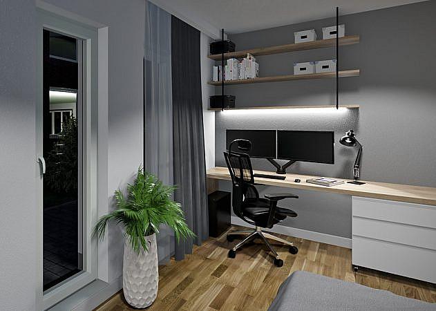 Bachstraße - Arbeitszimmer