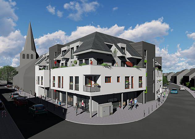 St. Martinus Quartier - Ansicht Ecke Kaiser-Klosterstraße
