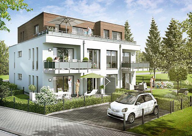 Hugo-Zade-Weg - Ansicht Gartensseite