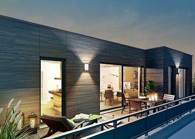 Hugo-Zade-Weg - Ansicht Dachterrasse | Penthouse