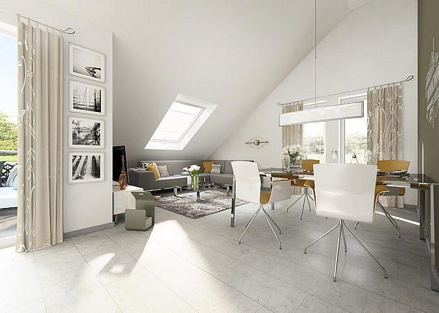 Salmstraße - Wohnung 6 | Wohn-Essbereich