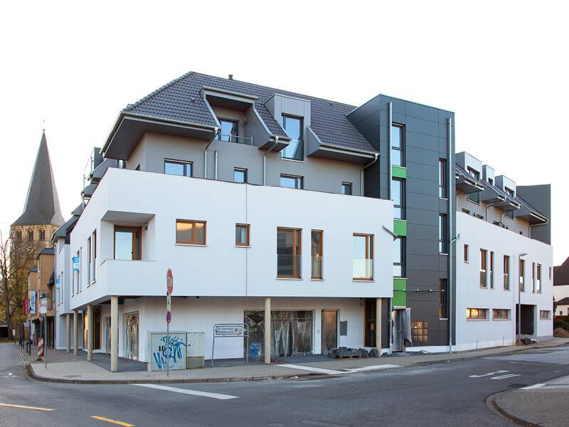 16 Eigentumswohnungen, 4 Gewerbeeinheiten | Kaiserstraße/Klosterstraße, Langenfeld